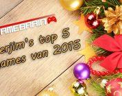 Verjim's Top 5 games van 2015