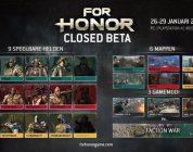 For Honor Closed Beta content bekendgemaakt – Trailer
