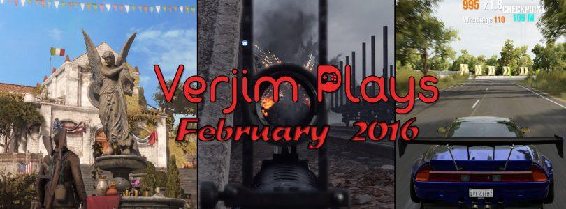 De maand februari in beeld – Verjim Plays