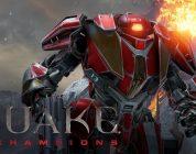 Schiet je een weg doorheen Arenas met de dodelijke, Woke Automaton, Clutch in Quake Champions