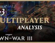 Warhammer 40,000: Dawn of War III:  Multiplayer Analyse – Trailer
