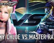 Lucky Chloe VS Master Raven in nieuwe Tekken 7 gameplay video