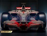 Vier historische Mclarens onhtuld voor F1 2017