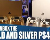 Gouden en zilveren playstation 4 unboxing video