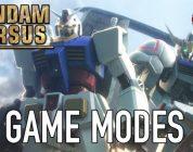 Releasedatum en game modes voor Gundam Versus onthuld – Trailer