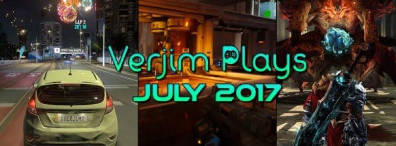 De maand juli in beeld – Verjim Plays