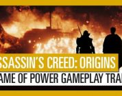 Assassin's Creed Origins: Gamescom 2017 Game of Power Gameplay Trailer