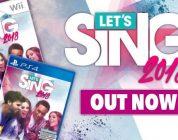 Let's Sing 2018 is nu beschikbaar voor PlayStation 4 en Wii – Trailer