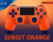Sony lanceert binnenkort een oranje Playstation 4-controller