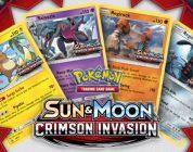 Sun & Moon: Crimson Invasion-uitbreiding is nu beschikbaar voor Pokémon Trading Card Game