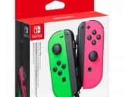 Nintendo Switch krijgt groen/roze Joycon set