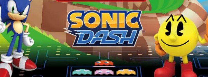 PAC-MAN en Sonic slaan de handen voor het eerst in elkaar op mobiele platformen