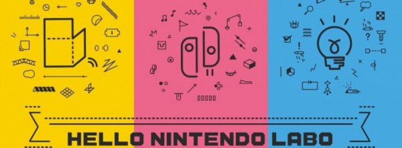 Nintendo onthult meer manieren om te bouwen, spelen en ontdekken met Nintendo Labo