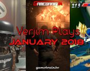 Januari 2018 in beeld – Verjim Plays