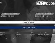 Rainbow Six Benelux League 2 april van start