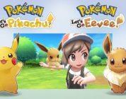 Pokémon: Let's Go, Pikachu! en Pokémon: Let's Go, Eevee! aangekondigd voor Nintendo Switch