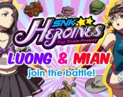 SNK HEROINES Introduceert Mian en Luong