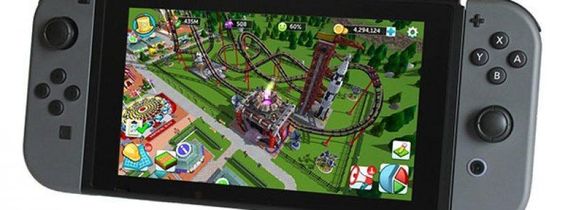 Rollercoaster Tycoon Adventures komt naar de Switch