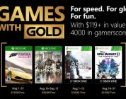Xbox Games with Gold voor augustus onthuld – Trailer