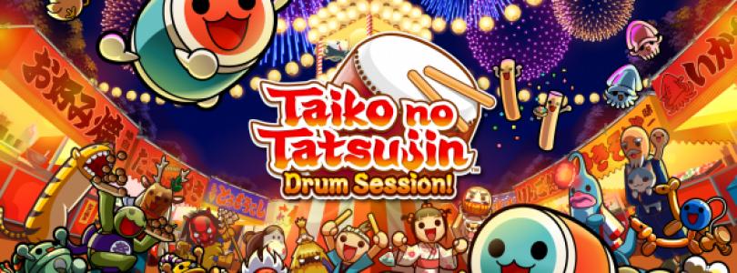 Ontdek de geweldige tracklist van Taiko no Tatsujin en speel met de Taiko Drum Set in Europa