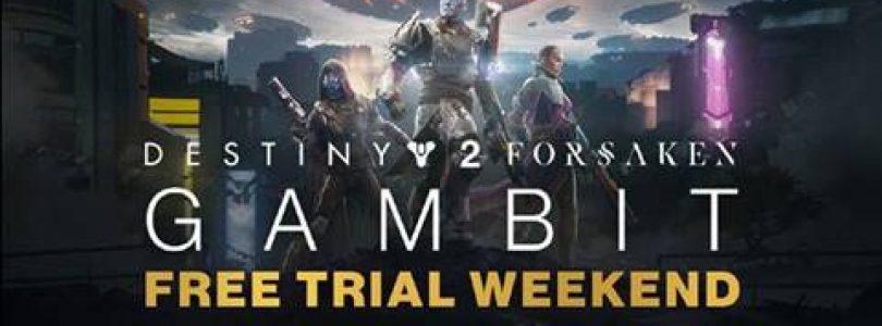 Destiny 2: Forsaken – Gambit Free Trial is terug!