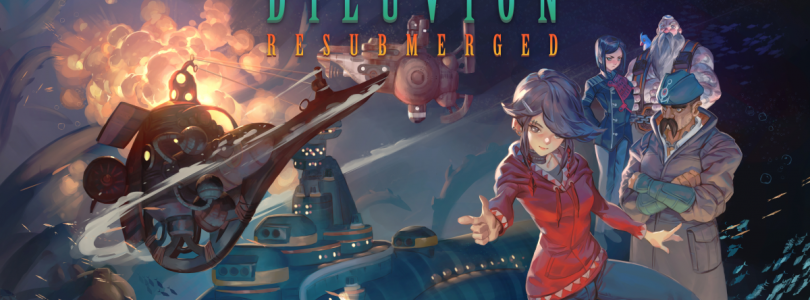 Launch trailer voor Diluvion Resubmerged