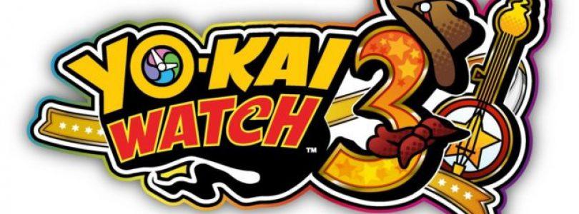 YO-KAI WATCH 3 verschijnt komende winter voor Nintendo 3DS