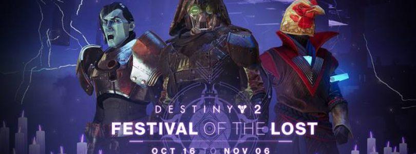 Destiny 2: Festival of the Lost start op 16 oktober – Trailer
