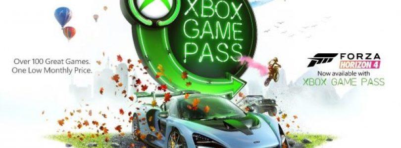 Forza Horizon 4 nu beschikbaar voor Xbox Game Pass