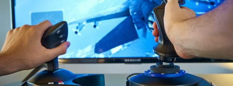 T.Flight Hotas Ace Combat 7 Skies Unknown Edition joysticks: details van lancering onthuld