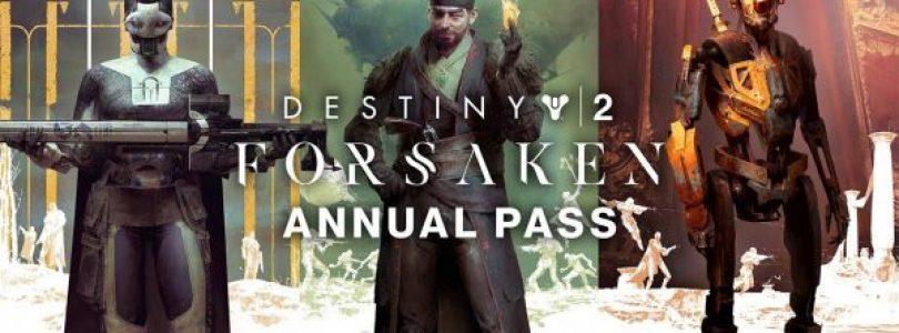 Destiny 2: Forsaken Annual Pass vandaag van start – Trailer