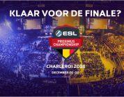 Eindstrijd eerste seizoen ESL Proximus Championship vindt plaats in Spiroudome Charleroi