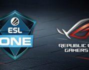 ASUS Republic of Gamers kondigt wereldwijde partnership aan voor alle ESL One Powered by Intel Events in 2019