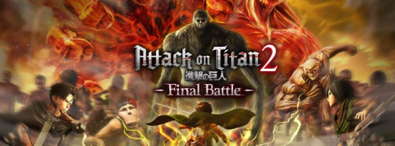 Gebruik krachtig nieuw wapentuig in Attack on Titan 2: Final Battle