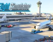Microsoft Flight Simulator toont sneeuwlandschap