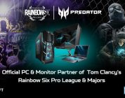 Acer Predator wordt PC- en monitorsponsor Rainbow Six Siege Pro League en Majors