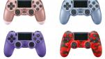 Vier nieuwe DualShock 4 kleuren op komst