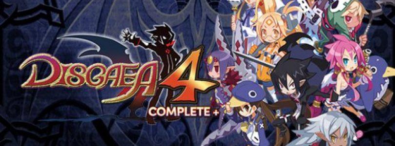 Disgaea 4 Complete+  heeft demo en gameplay trailer gekregen