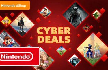 Deze week beginnen de Cyberdeals in de Nintendo eShop, met kortingen tot 70% op meer dan 150 titels voor Nintendo Switch
