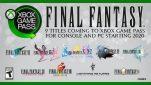 Klassieke Final Fantasy-titels beschikbaar met Xbox Game Pass, vanaf 2020