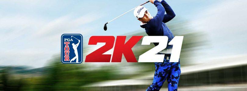 PGA TOUR 2K21 legt de bal op de tee, slaat af en scoort in de basket met nieuwe MyPLAYER-uitrusting met logo's van NBA-teams