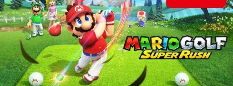 Nieuwe trailer voor Mario Golf: Super Rush onthult alle personages, nieuwe spelstand en meer